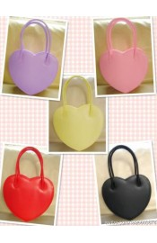 Loris Double Sided Heart Shaped Handbag