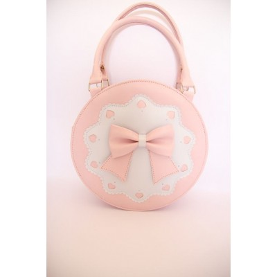 Loris Lovely Ribbon Round Shoulder Bag