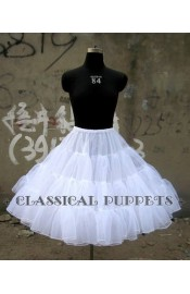 Classical Puppets A-Line Long Petticoat(In Stock)