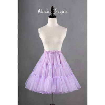 Classical Puppets A-Line Petticoat III(Daily Petticoat/In Stock)