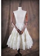 Classical Puppets A-Line Winter Long Petticoat(In Stock)