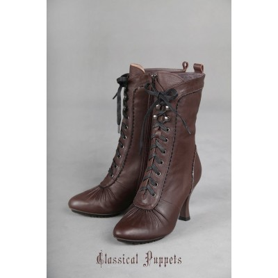 Classical Puppets Steam Victorian Short Boots(Leftovers)