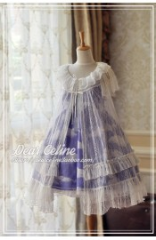 Dear Celine Ariel The Little Mermaid Lace Overdress(Reservation/Deposit)