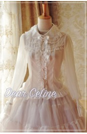 Dear Celine Tea Party Dolly Long Sleeve Blouse(Reservation)