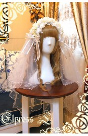 Elpress The Diphylleia Grayi Bride Headdress