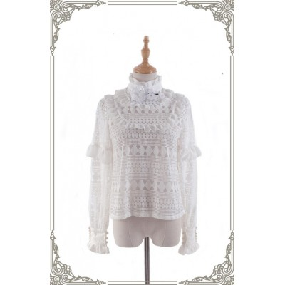Grove Deer City of Devils Snow Moon Forest Blouse(Reservation/Deposit)