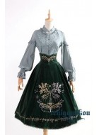 Ichigo Miko Lord of the Rings Corset Long Skirt(Leftovers)