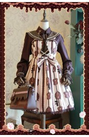 Infanta Chocolate Carousel Mini Daily JSK