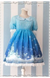 Infanta Frozen World Chiffon One Piece