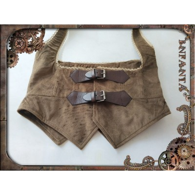 Infanta Mechanical Doll Steam Punk Corset