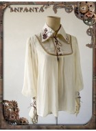 Infanta Mechanical Doll Steam Punk Embroidered Blouse