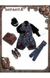 Infanta Mechanical Doll Steam Punk Vest