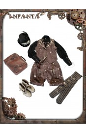 Infanta Mechanical Doll Steam Punk Shorts
