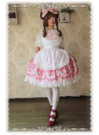 Infanta Miss Strawberry Apron