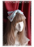 Infanta Miss Strawberry Print Headbow