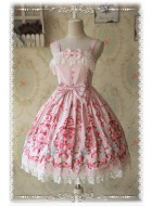 Infanta Miss Strawberry Print JSK
