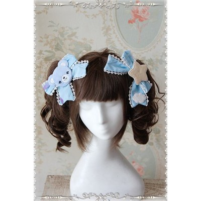 Infanta Sleeping Bear Hair Clips