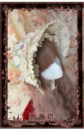 Infanta Sleeping Beauty Bonnet