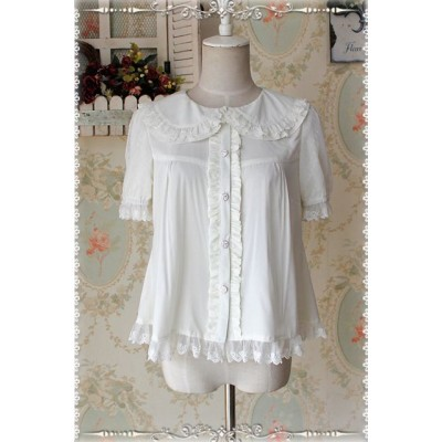 Infanta Summer Dolly Chiffon Blouse(In Stock)