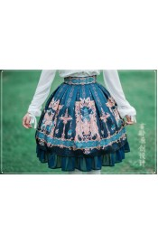 Jun Ling Mesopotamia Skirt(Reservation)