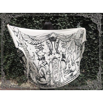Jun Ling The Eye of Horus Shawl(Limited Reservation/Deposit)