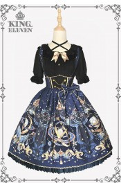 King Eleven The Demon King Of The Universe High Waist Skirt(Leftovers)