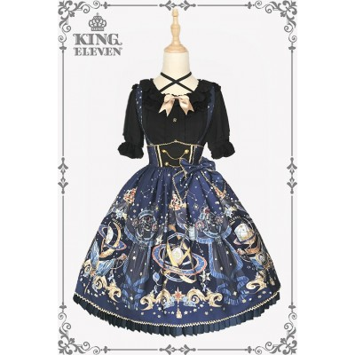 King Eleven The Demon King Of The Universe High Waist Skirt(Reservation/Deposit)