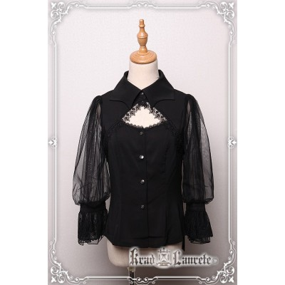 Krad Lanrete Transilvania Moonlight Bat Collar Blouse(Leftovers)