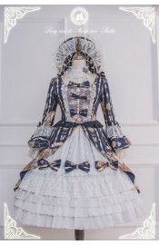 Long Ears&Sharp Ears Blood Moonlight Waltz Dress Set(Reservation/Deposit)