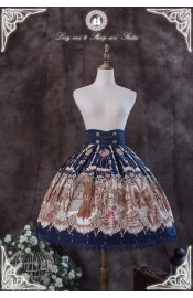 Long Ears&Sharp Ears Blood Moonlight Waltz Skirt(Reservation/Deposit)