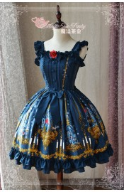 Magic Tea Party Beauty and Beast JSK(Pre-Order)