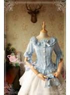 Magic Tea Party Cross and Censer Chiffon Blouse