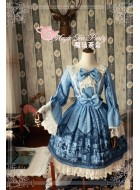 Magic Tea Party Lolita Workshop Bell Sleeve One Piece