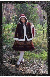 Magic Tea Party Winter Guardian Christmas Cape