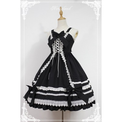 Neverland Antique Doll High Waist JSK II(Hard Lace)