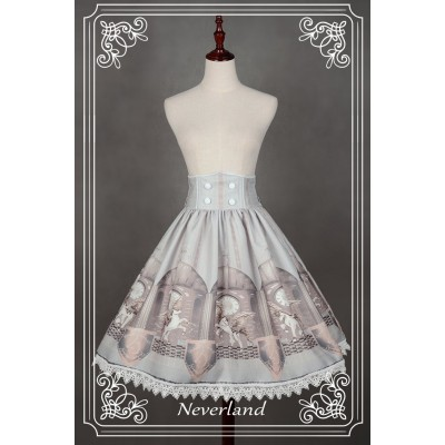 Neverland Chrono Guardian High Waist Skirt