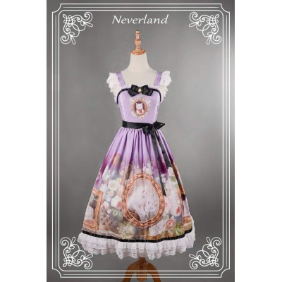 Neverland Courtyard Cats Normal Waist Long JSK