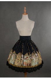 Neverland Goddesses of Seasons High Waist Skirt