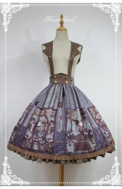 Neverland Steam Punk Cat Skirt