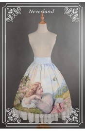 Neverland The Song of the Lark High Waist Skirt