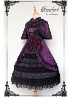 Neverland Umineko When They Cry Eva Ushiromiya JSK Cape Set