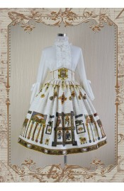 Knight Night The Secret of Kells High Waist Skirt(Limited)