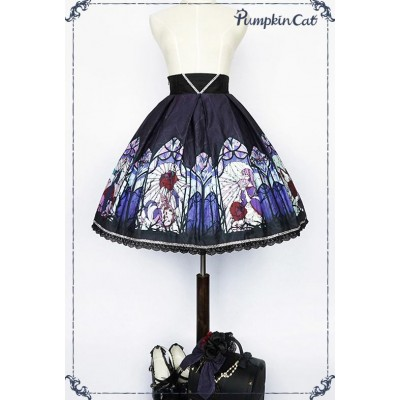 Pumpkin Cat Beauty the Rose Skirt(Limited)