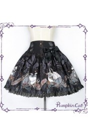 Pumpkin Cat Dragon's Treasure Skirt(Leftovers)