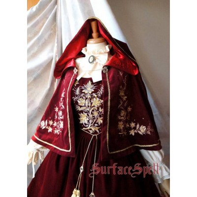 Surface Spell Gothic Bourbon Cape