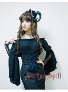 Surface Spell Gothic Mermaid Medieval Blouse
