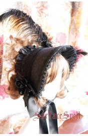 Surface Spell Gothic Jacquard Half Bonnet