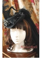 Surface Spell Gothic Lady In Black Hat