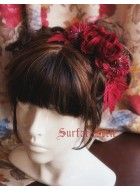 Surface Spell Gothic Rose Daisy Headdress