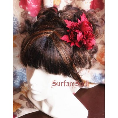 Surface Spell Gothic Rose Headdress